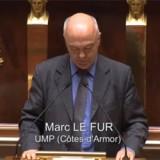 Marc Le Fur à L'Assemblée Nationale