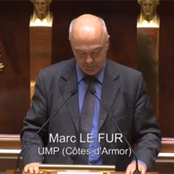 Marc Le Fur à L'Assemblée Nationale