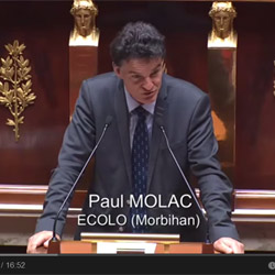 Paul Molac à l'Assemblée Nationale