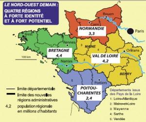 4 régions à fort potentiel
