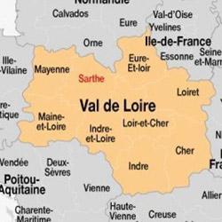 Carte du Val de Loire