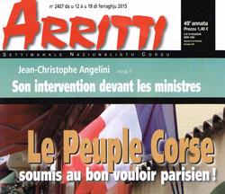 Le Peuple Corse soumis au bon vouloir parisien !