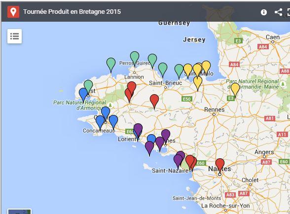La tournée estivale de Produit en Bretagne démarre le 13 juillet à Nantes !