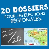 20 dossiers pour les élections régionales