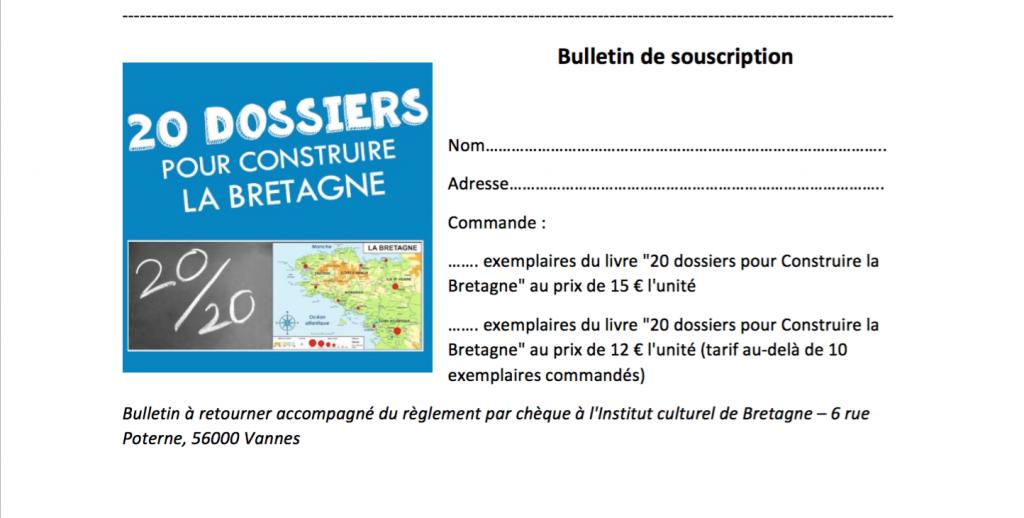 Bulletin souscription livre CLB fr
