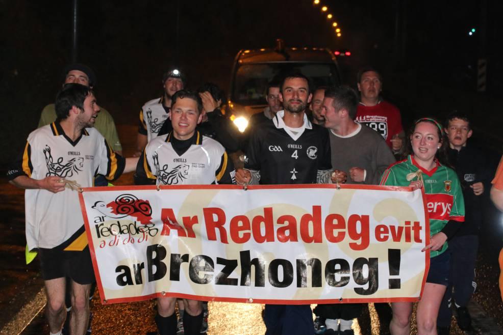 Ar Redadeg : une course pour promouvoir la langue bretonne.