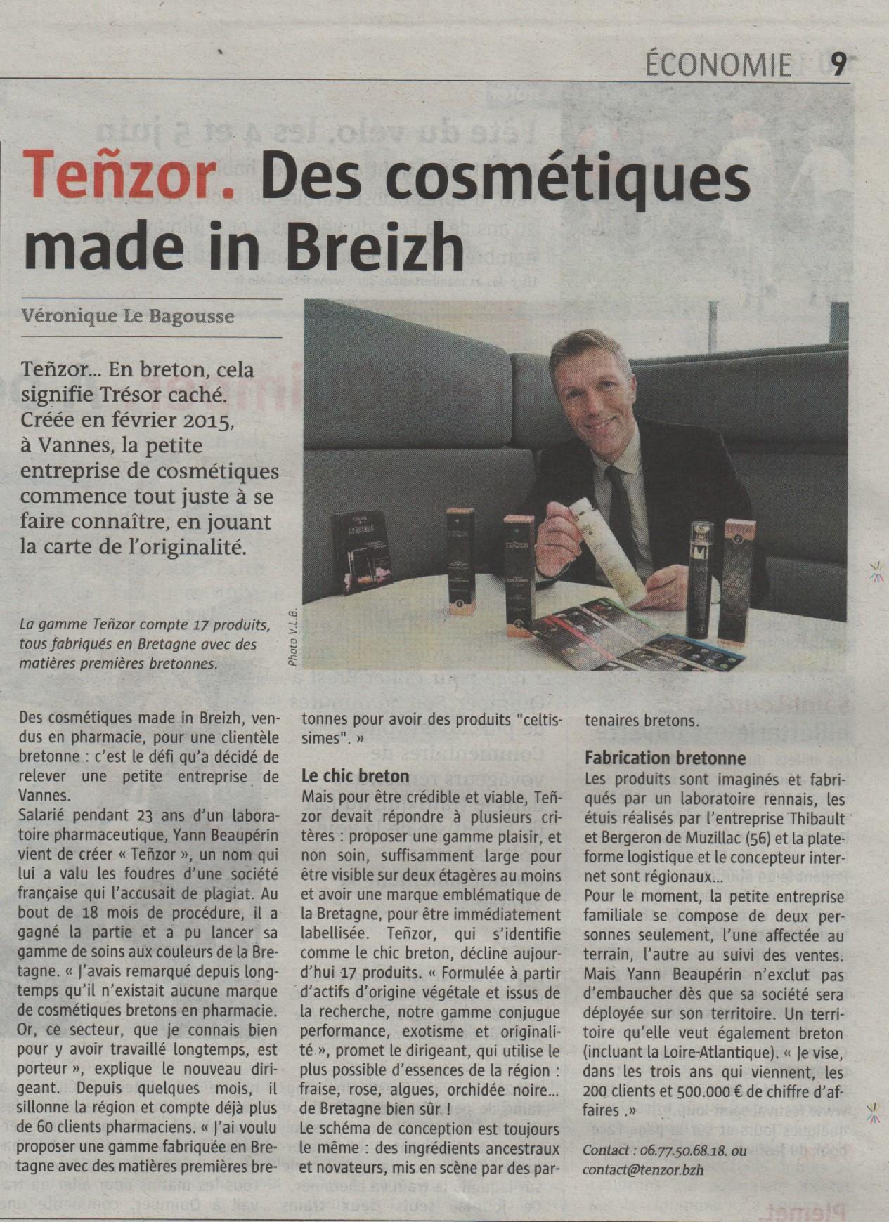 Teñzor. Des cosmétiques made in Breizh