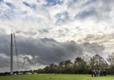 Ouverture du deuxième parc éolien citoyen français en Loire Atlantique