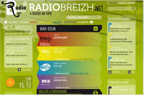 Des radios en langue bretonne