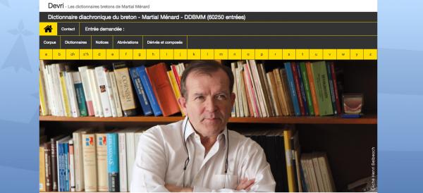 Martial Menard: ar bed dre ar brezhoneg