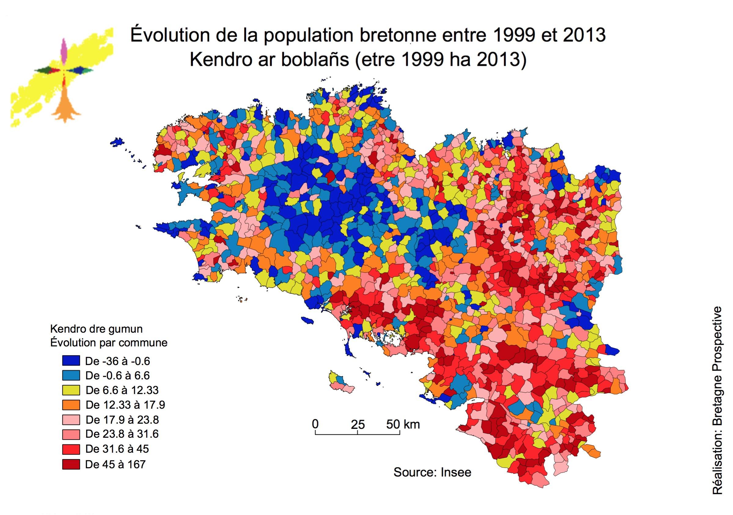 L'évolution démographique bretonne: il y a comme un problème