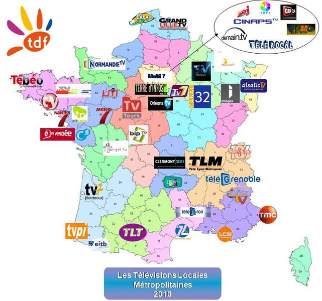 carte tv locales
