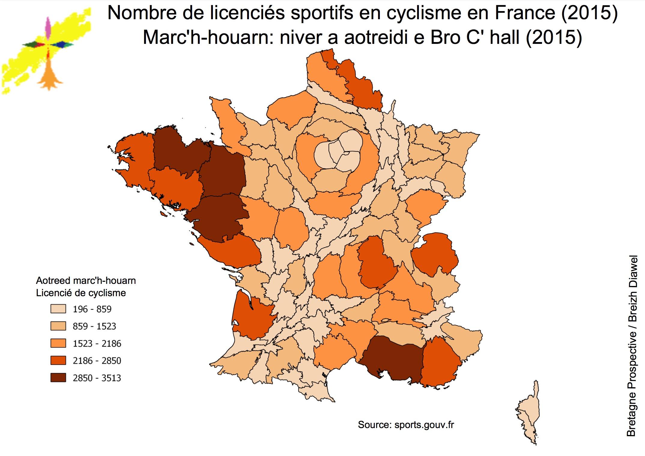 Les sports en France: quelle singularité bretonne? (partie 2)
