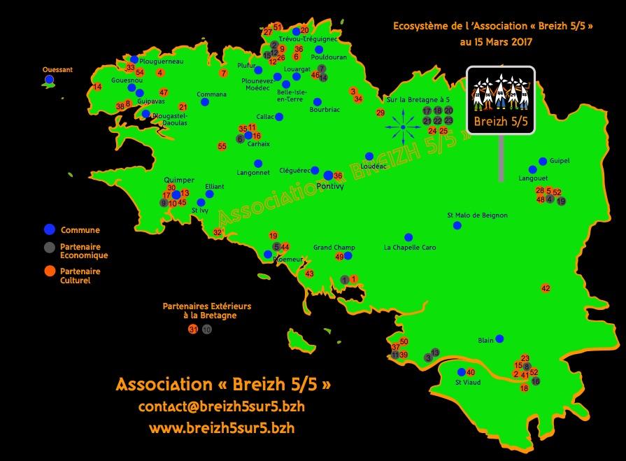 Breizh 5/ 5: la stratégie d'un maillage de fait