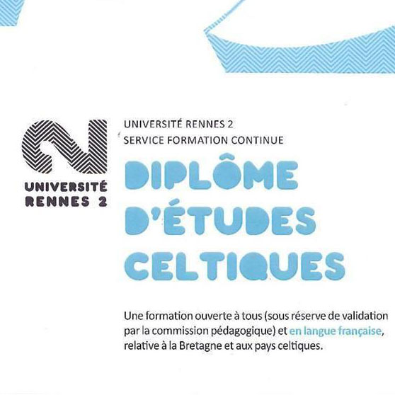 Diplôme d'études celtiques : il reste des places à Rennes